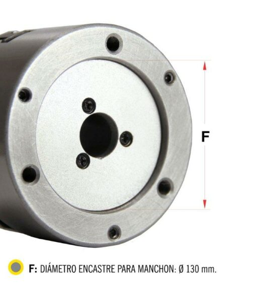 Plato Para Torno De Tres Mordazas Auto Centrante Diam. 160mm