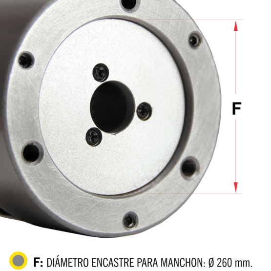 Plato Para Torno De Tres Mordazas Auto Centrante Diam. 315mm