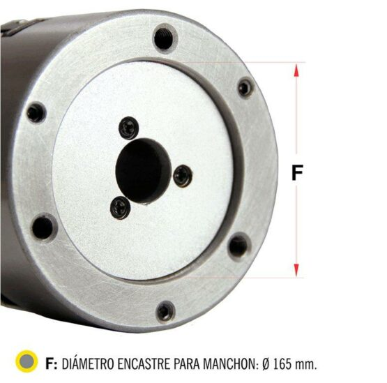Plato Para Torno De Tres Mordazas Auto Centrante Diam. 200mm