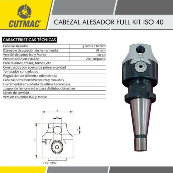 Cabezal Alesador Full Kit