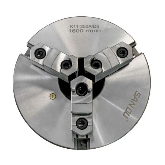 Plato Para Torno De Tres Mordazas Auto Centrante Diam. 250mm D6